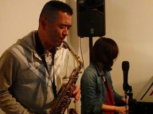 ジャズサックス生徒さん演奏