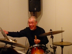 ジャズドラム生徒さん