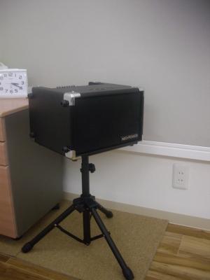 教室に常設のギターアンプです。